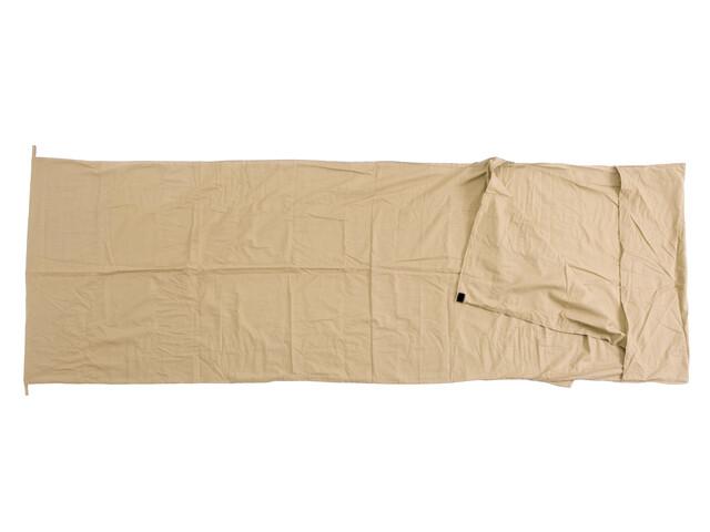 Basic Nature Sac de couchage fin - Drap de sac de couchage Enfant - beige
